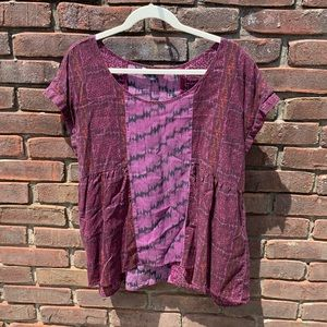 American Eagle Babydoll Top